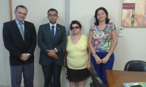 Irineu Messias, André Veras, Francisca Alves e Maria Cassiana