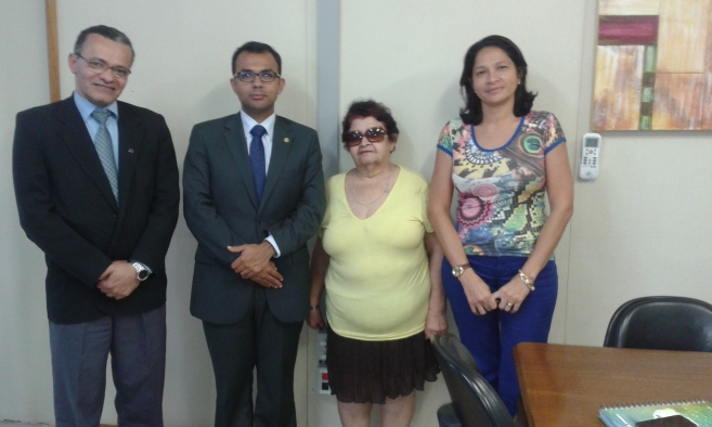 Irineu Messias, André Veras, Francisca Alves e Maria Cassiana