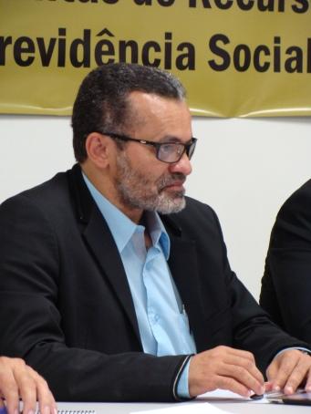 Irineu Messias, durante o 1º Encontro Nacional dos Servidores do CRPS e das Juntas de Recursos da Previdência Social, dias 26 e 27.03, em Brasília.DF.