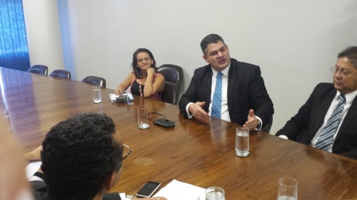 Dr. Wlamir Mota Campos, um dos articuladores da Audiência Pública no Senado Federal. Esta Adiência foi solicitada desde dezembro de 2014,pelo Presidente Sandro Alexi, em reunião com o senador Paulo Paim(PT.RS)