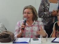 Julineide, conselheira/PB, representante do Governo, contribuiu muito no Encontro