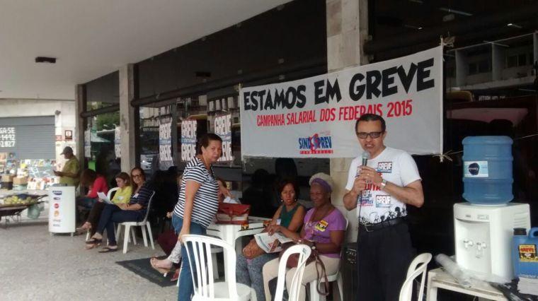 Irineu Messias, é servidor da 3ª Junta, em PE, participa da greve nacional