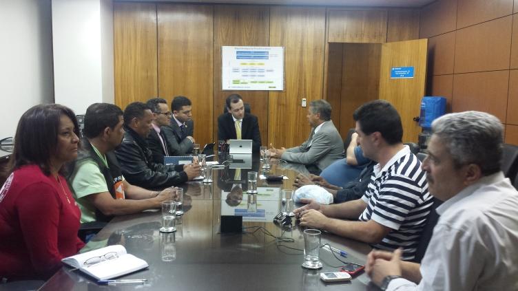 Reunião dia 13.08, com Dr.Marcelo Siqueira, no MPS.