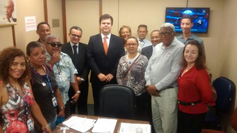 Com o Líder do PSB, na Câmara dos Deputados, Fernando Filho.PSB/PE