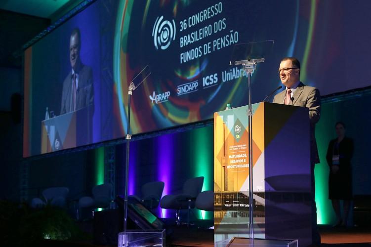 Congresso da Abrapp discute desafios e oportunidades da previdência complementar. Foto: Erasmo Salomão/MTPS Mais fotos