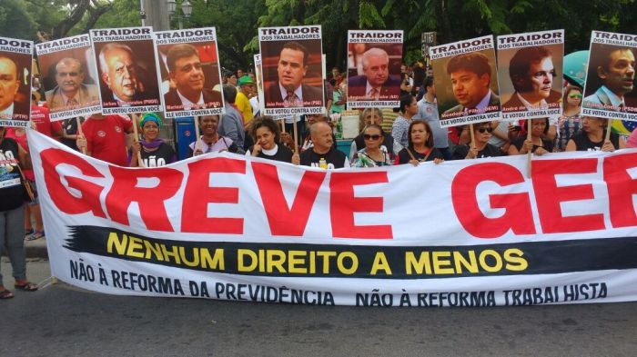 greve geral traidores